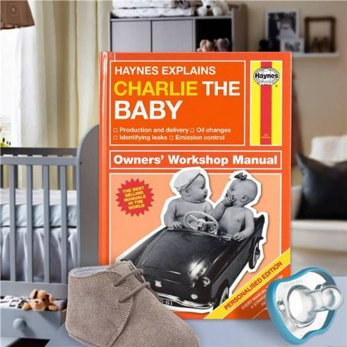 Personalised Haynes Explains Babies